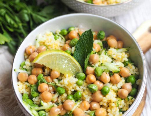 Salade perles de blé