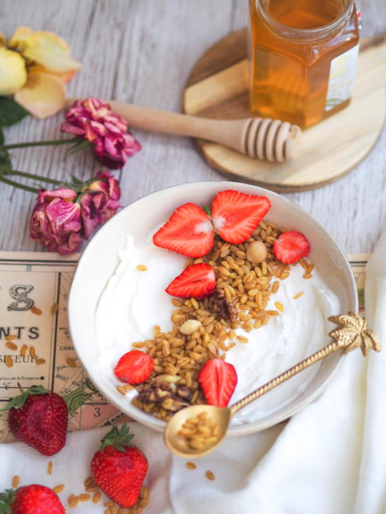 Porridge de blé
