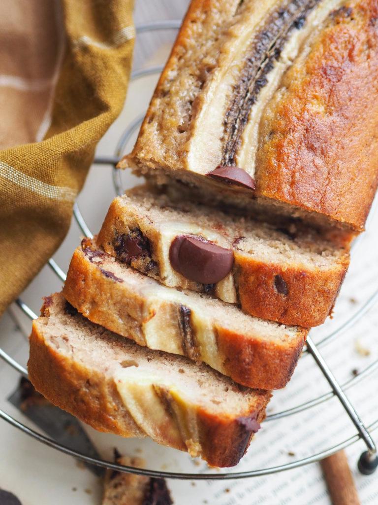 Banana bread recette inratable